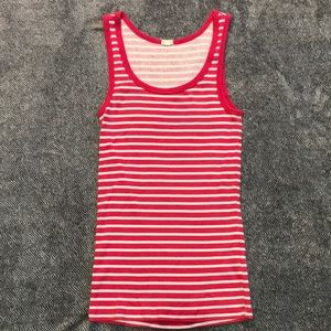Classic J. Crew Ribbed Tank Too